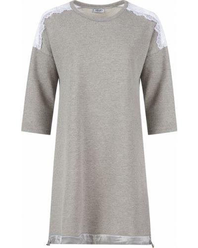 Платье весеннее серое Liu Jo