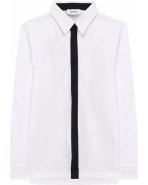 Рубашка черная эластичный Aletta