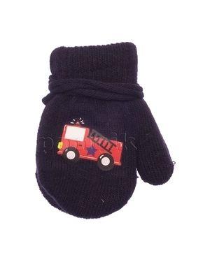 Перчатки теплые темно-синий Yo
