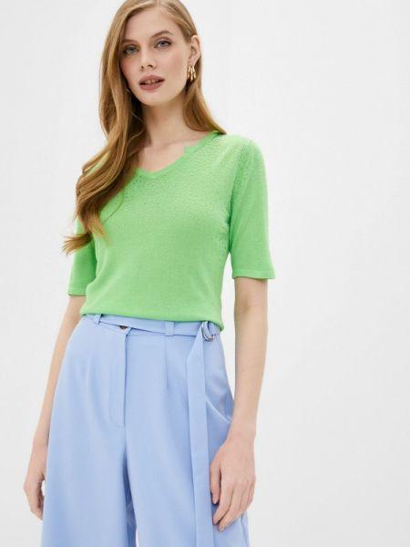 Зеленый пуловер Passioni