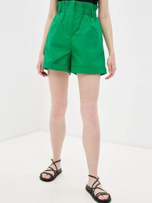 Зеленые повседневные шорты Compania Fantastica