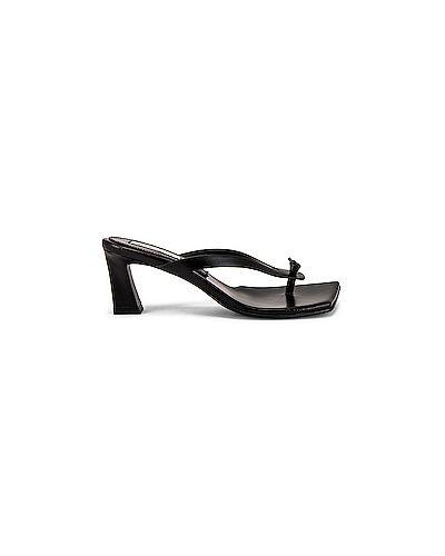 Кожаные черные туфли на каблуке на каблуке Reike Nen