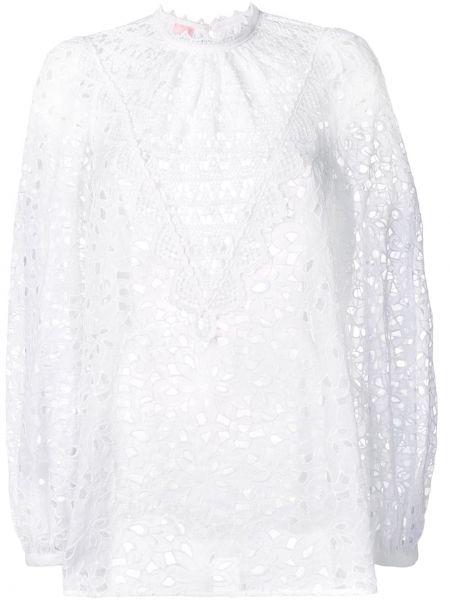 Biała koszula bawełniana Giamba