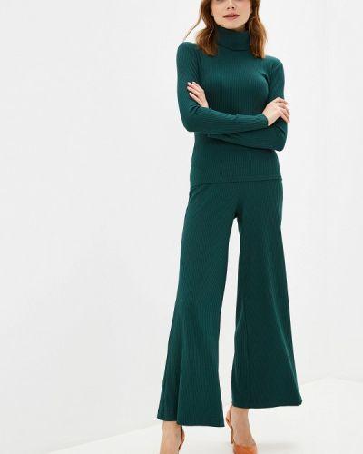 Брючный костюм зеленый Trendyangel
