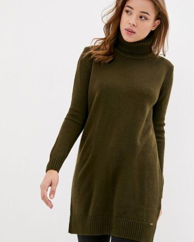 Вязаное платье хаки Jimmy Sanders