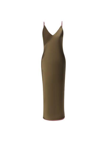 Платье шелковое Lesyanebo