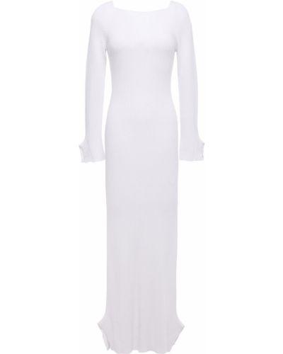 Открытое белое платье макси с открытой спиной Each X Other