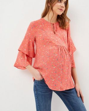 Блузка коралловый для беременных Gap Maternity
