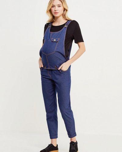 Синий джинсовый комбинезон Mammysize