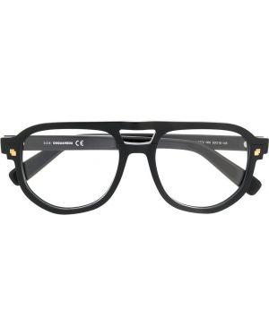 Черные очки квадратные Dsquared2 Eyewear