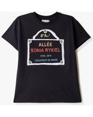 Черная футболка Sonia Rykiel