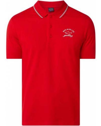 T-shirt bawełniany Paul & Shark