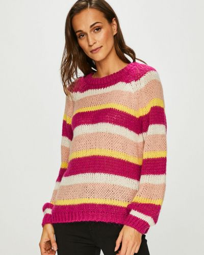 Sweter z wzorem z raglanowymi rękawami Vero Moda