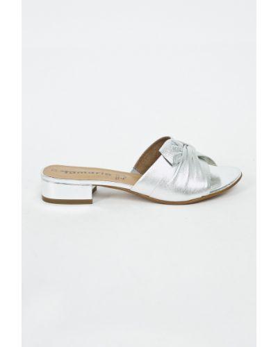Сандалии кожаный на каблуке Tamaris
