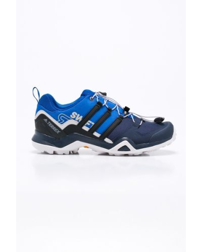 Синие ботинки на шнуровке Adidas Performance