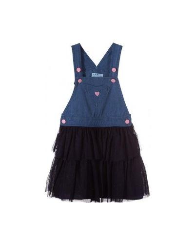 Джинсовое платье на кнопках платье-сарафан 5.10.15
