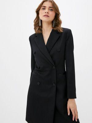 Пальто - черное Silvian Heach
