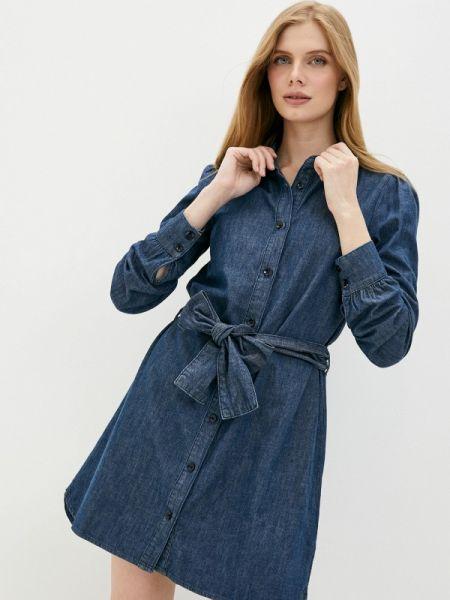 Синее джинсовое платье Twist & Tango