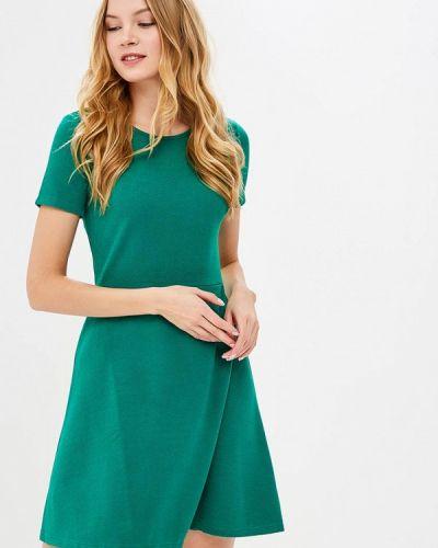 Зеленое платье льняное Incity