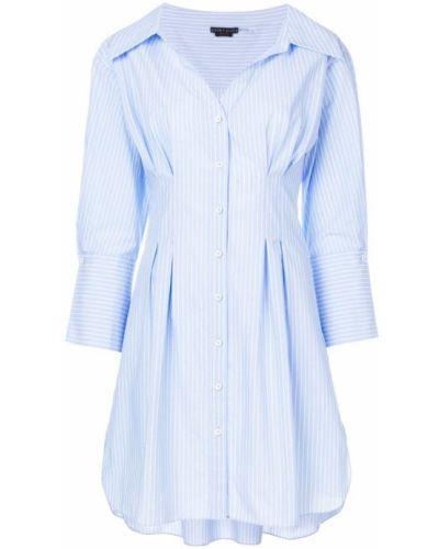 Платье платье-рубашка в полоску Alice+olivia