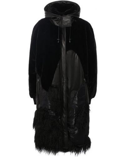 Пальто с капюшоном плюшевое пальто Tom Ford