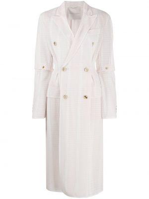 Длинное пальто - розовое Marco De Vincenzo
