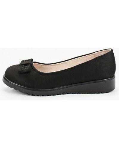 Черные велюровые туфли Shuzzi