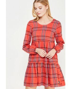 Прямое красное платье Femi Stories