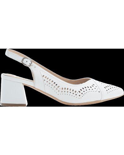 Ортопедические туфли - белые Rieker