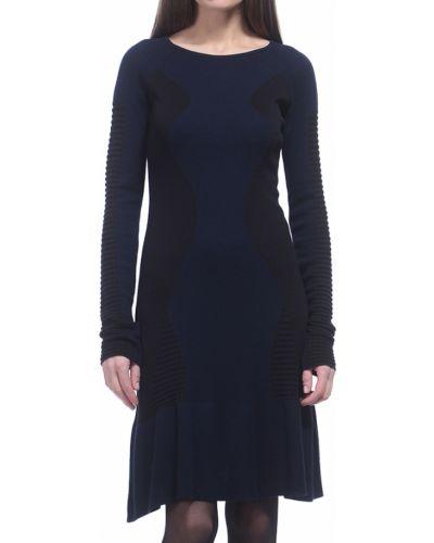 Синее платье Armani Jeans