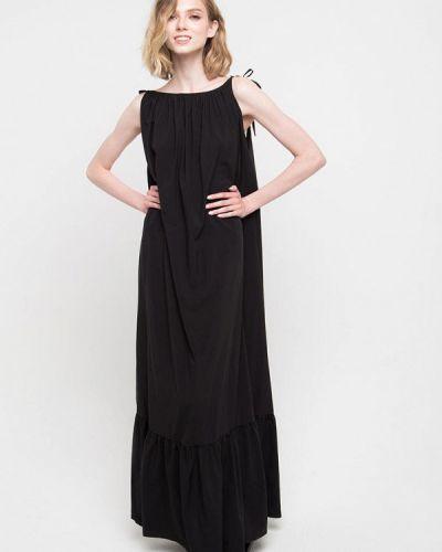 Черное весеннее платье Fors