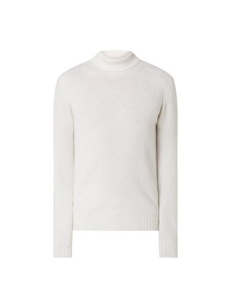 Sweter wełniany - biały Altea