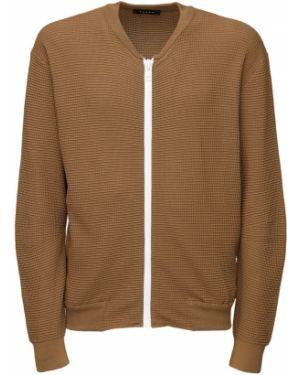 Prążkowana kurtka bawełniana Falke