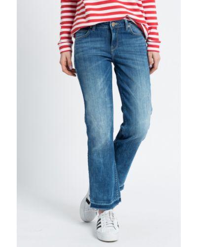 Прямые джинсы синие с эффектом потертости Lee