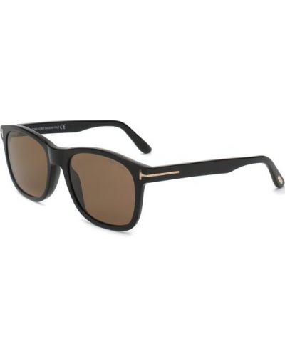 Черные солнцезащитные очки Tom Ford