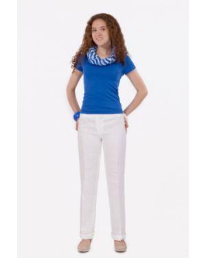 Летние брюки с короткими рукавами из вискозы на резинке Palla