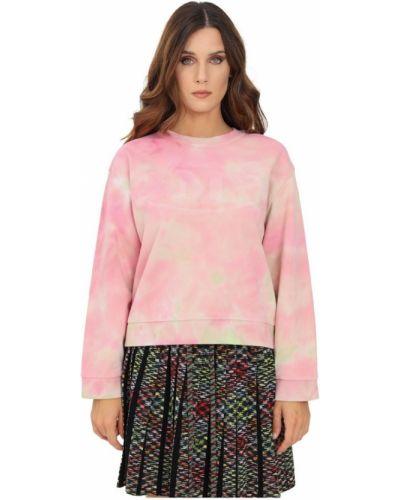 Różowy sweter Missoni