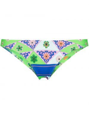 Зеленый купальник с принтом Frankie's Bikinis