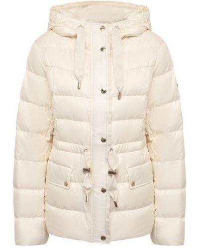 Пуховая белая куртка с подкладкой Michael Michael Kors