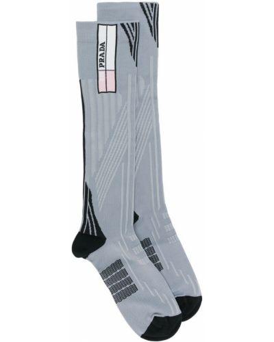 Серые носки Prada