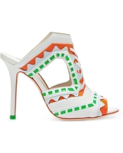 Босоножки на каблуке на шпильке на высоком каблуке Sophia Webster