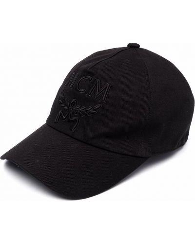 Хлопковая кепка - черная Mcm