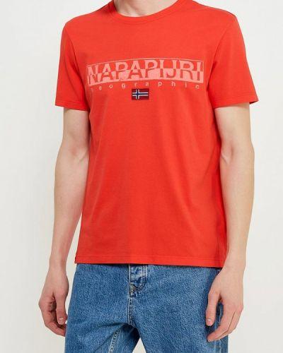 Красная футболка Napapijri