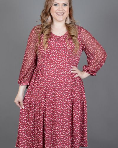 Платье в стиле бохо с V-образным вырезом Avigal (avrora)
