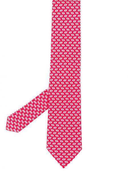 Jedwab klasyczny krawat Salvatore Ferragamo