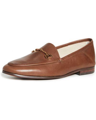 Loafers - brązowe Sam Edelman