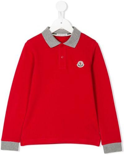 Рубашка красный Moncler Kids