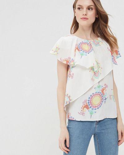 Белая блузка Desigual