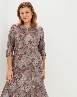 Платье миди с цветочным принтом платье-сарафан Dream World