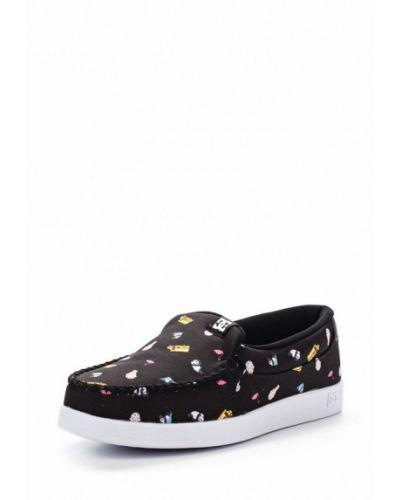Черные слипоны Dc Shoes